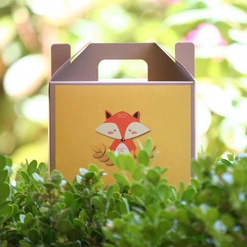 """Αυτοκόλλητα Για Συσκευασίες Ζώα Του Δάσους -The Woodland Collection By """"Βαν Ντιζάιν"""""""