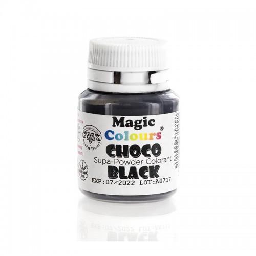 Μαύρο Λιποδιαλυτό Χρώμα σε Σκόνη για Σοκολάτα της Magic Colours
