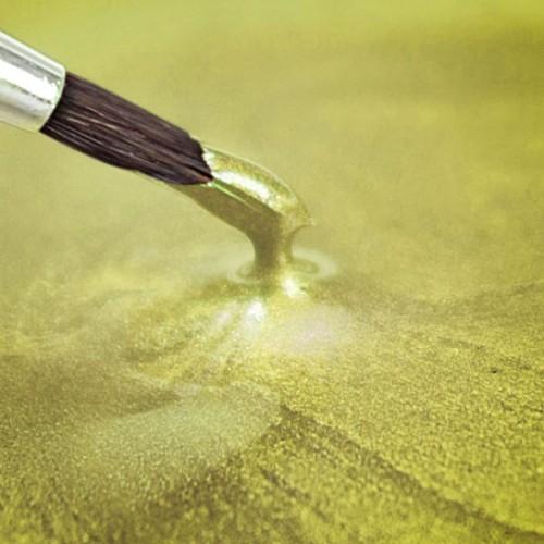 Κίτρινο Περλέ Μεταλλικό - 25ml Rainbow Dust