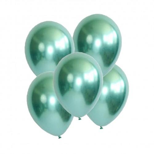 Chrome Βεραμάν Μονόχρωμα Μπαλόνια 5pcs