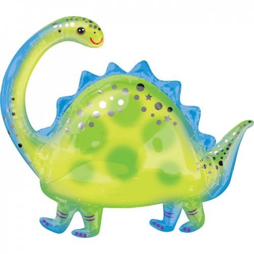 Μεταλλικό Μπαλόνι Δεινόσαυρος Brontosaurus Anagram