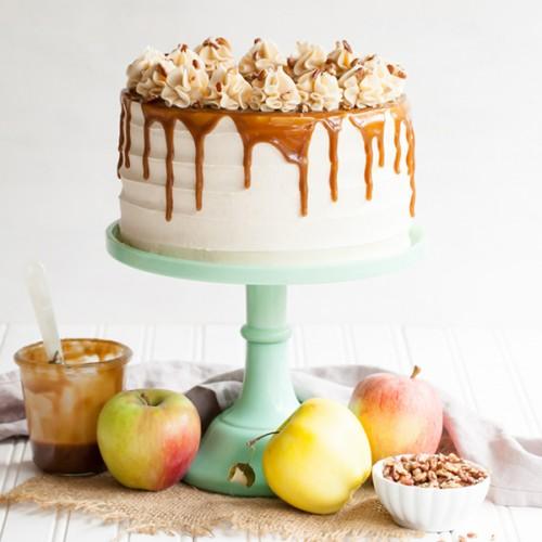 Χρώμα Μέντας Κεραμικό Cake Stand-Miss Etoile