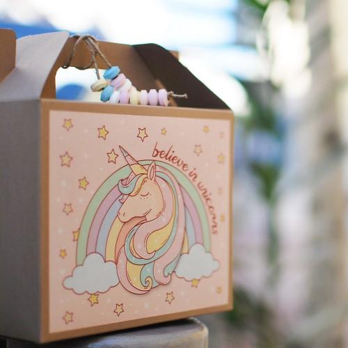 """Αυτοκόλλητα για Συσκευασίες Μαγικός Μονόκερος-The Unicorn Collection-""""Βαν ντιζάιν"""""""