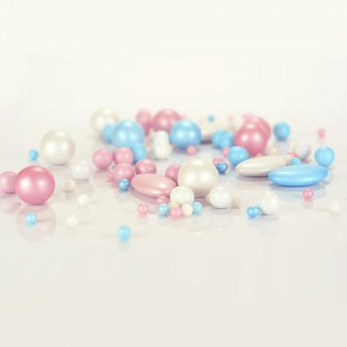 Μονόκερος Pearl Mix Βρώσιμες Πέρλες Σοκολάτας Unicorn Pearlicious 150gr