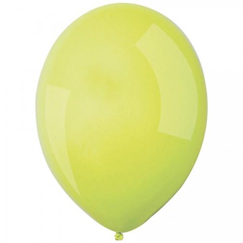 Κίτρινα Παστέλ Μονόχρωμα Μπαλόνια 5pcs