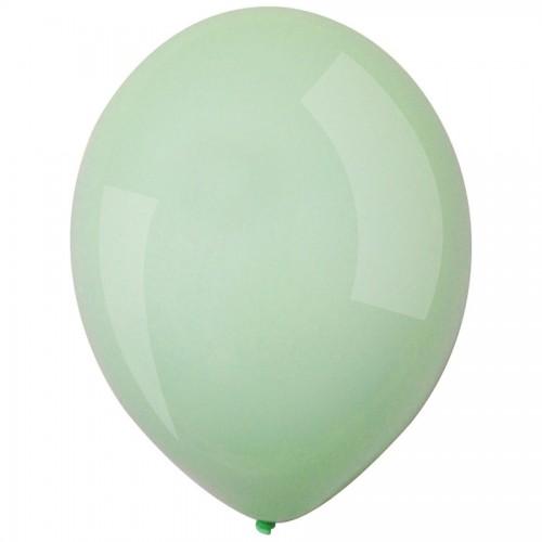 Μέντα Παστέλ Μονόχρωμα Μπαλόνια 5pcs