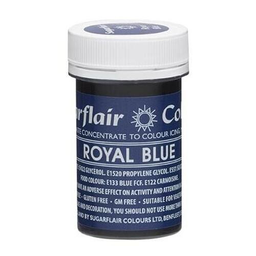 Βασιλικό Μπλε Συμπυκνωμένο Βρώσιμο Χρώμα 25γρ Sugarflair