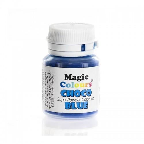 Μπλε Λιποδιαλυτό Χρώμα σε Σκόνη για Σοκολάτα της Magic Colours