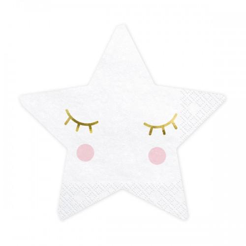 Χαρτοπετσέτες Αστέρι Little Star PartyDeco
