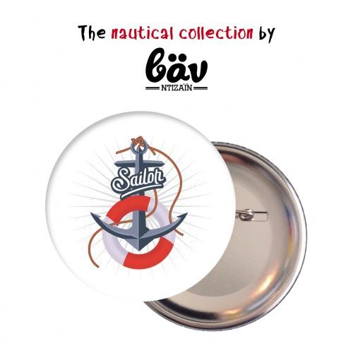 Κονκάρδες Ναυτικό Θέμα Άγκυρα Party Pins Για Δώρα Και Party Favors-The Nautical Collection