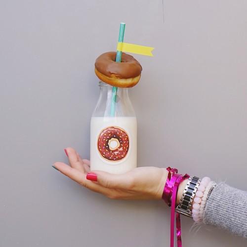 """Αυτοκόλλητα για Συσκευασίες Ντόνατς-The Donut Sticker Collection """"βαν ντιζάιν"""""""
