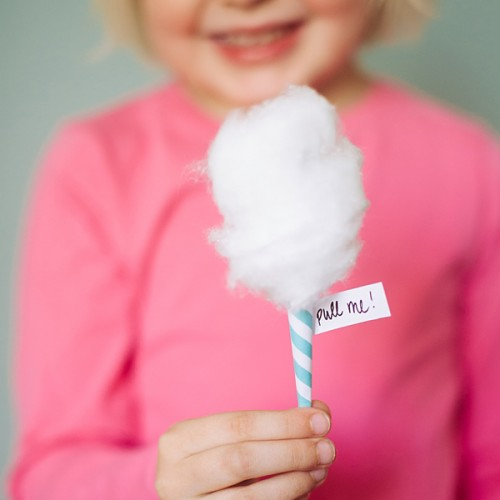 Party Cotton Candy-Μαλλί της Γριάς Ροζ & Γαλάζιο Για Πάρτυ Και Events