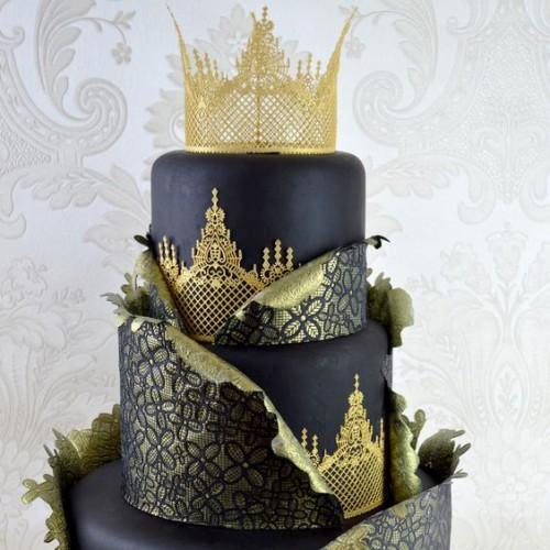 "Cake Lace - Καλούπι Δαντέλας ""Ophelia"" (38x13cm)"