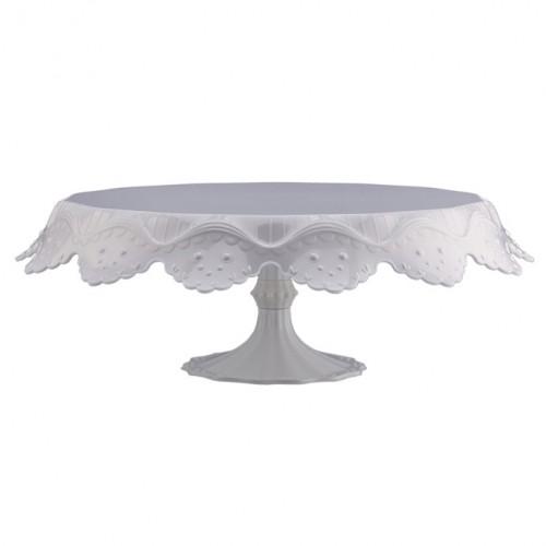 Λευκό Πλαστικό Cake Stand Papillon Pavoni