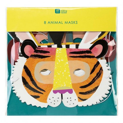 Μάσκες Ζώα Animal Masks Talking Tables