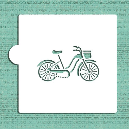 Bicycle Cookie Stencils - Στένσιλ Για Μπισκότα Ή Πλαϊνά Τούρτας Ποδήλατο Designer Stencils