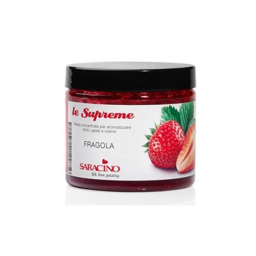 Συμπυκνωμένη Αρωματική Πάστα Φράουλα 200gr Saracino