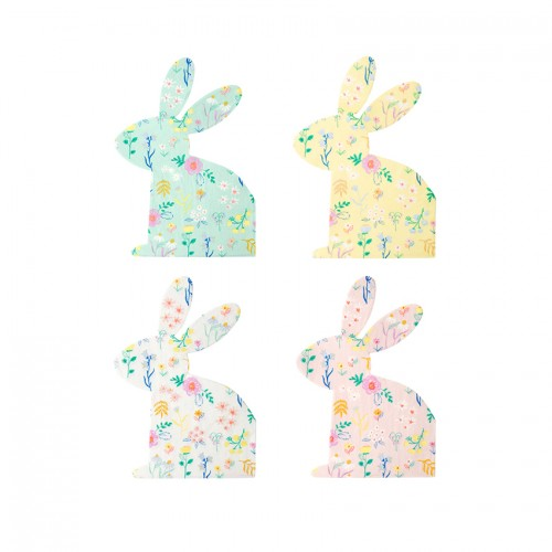 Χαρτοπετσέτες Πασχαλινός Λαγός Wildflower Bunny Napkins Meri Meri