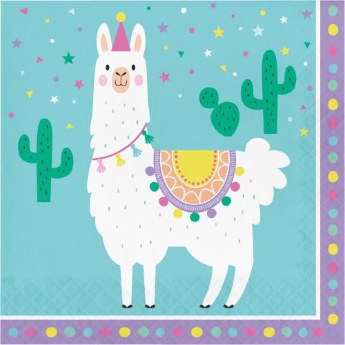 Χαρτοπετσέτες Λάμα  Llama Party