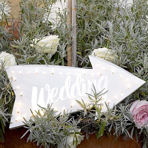 Φωτιζόμενη Πινακίδα Γάμου-Party Illuminations Wedding Sign-Talking Tables