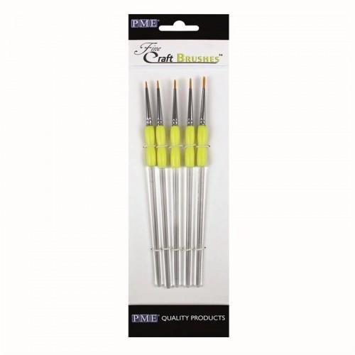 Πινέλα Zωγραφικής 5 Mεγέθη PME (Fine Craft Brushes)