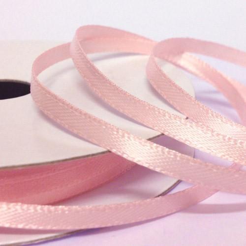 Κορδέλα ροζ σατέν διπλής όψης (3mm)