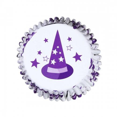 Καπέλο Μάγου Halloween Καραμελόχαρτα Αλουμινίου PME 30pcs