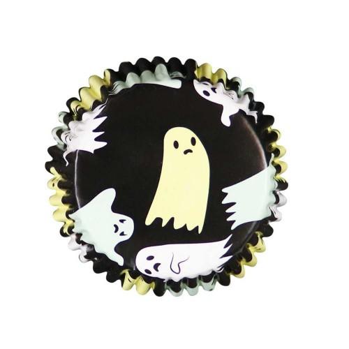 Φαντάσματα Halloween Καραμελόχαρτα Αλουμινίου PME 30pcs