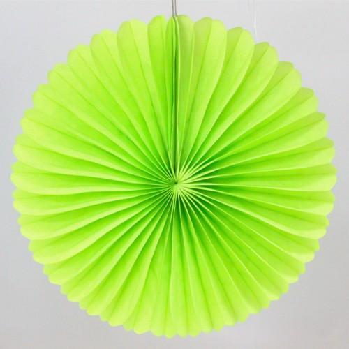 abcJoy ανοιχτό πράσινο Paper Fan