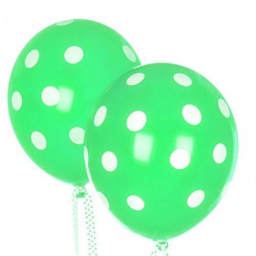abcJoy light green πουά μπαλόνια