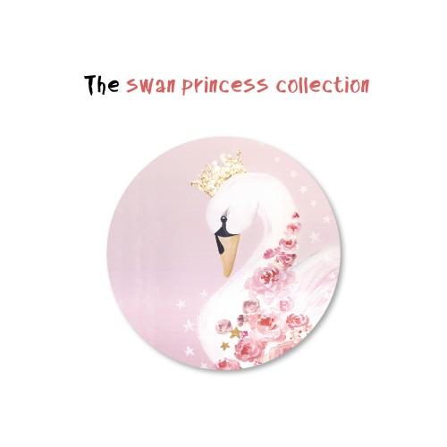 Αυτοκόλλητα Κύκνος Για Παιδικά Πάρτυ - Swan Princess Collection Stickers