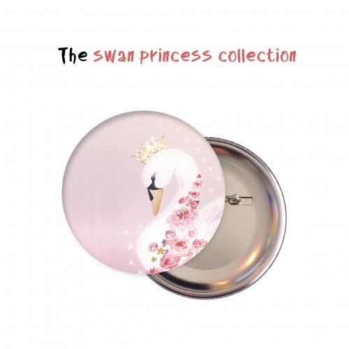 Κονκάρδες Κύκνος- Swan Princess Party Pins Για Δώρα Και Party Favors