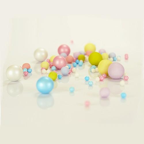 Ουράνιο Τόξο Pearl Mix Βρώσιμες Πέρλες Σοκολάτας Rainbow Pearlicious 150gr