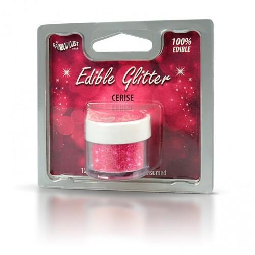 Βρώσιμο Γκλίτερ-Κεράσι-Rainbow Dust Glitter-5gr
