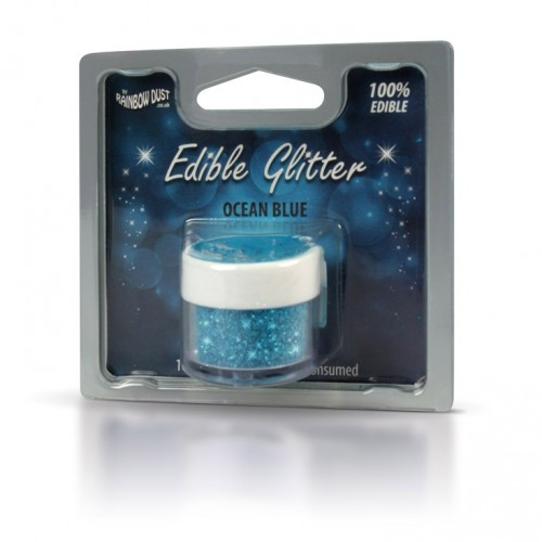 Βρώσιμο Γκλίτερ-Μπλε Του Ωκεανού-Rainbow Dust Glitter-5gr