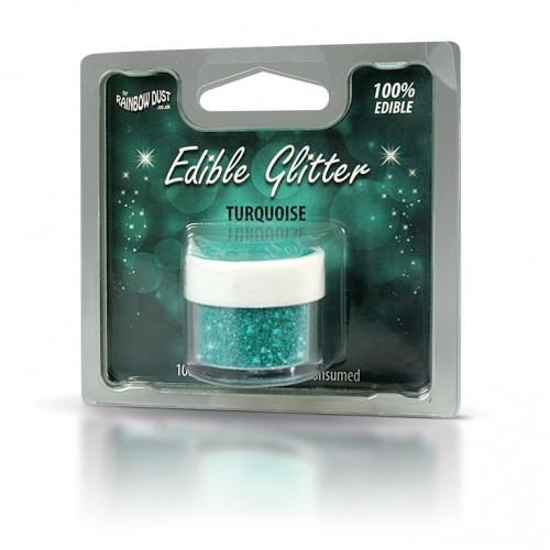 Βρώσιμο Γκλίτερ-Τυρκουάζ-Rainbow Dust Glitter-5gr