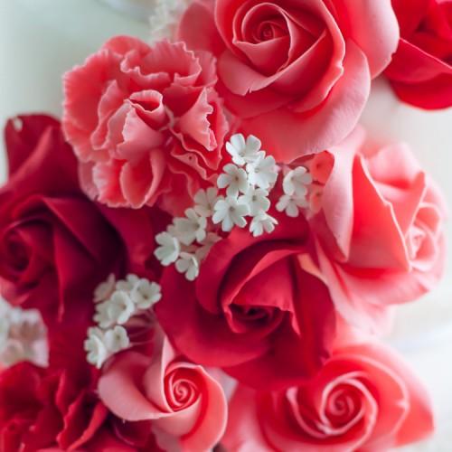 Κουπάτ Τριαντάφυλλο Σετ 4 Τεμάχια