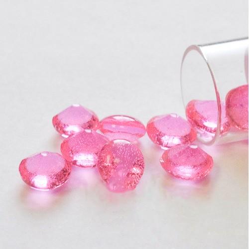 Βρώσιμα Διαμάντια 10mm-Απαλό  Ροζ