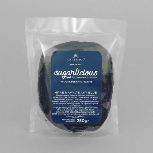 Ζαχαρόπαστα Sugarlicious Ναυτικό Μπλε 250gr