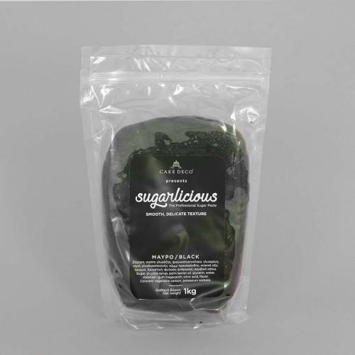 Ζαχαρόπαστα Sugarlicious Μαύρο 1Kg