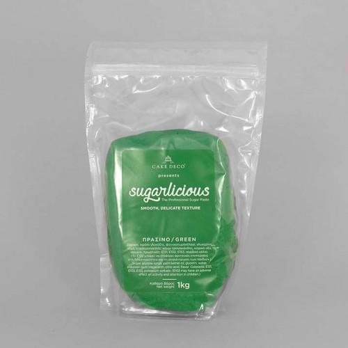Ζαχαρόπαστα Sugarlicious Πράσινο Γρασιδιού 1 Kg