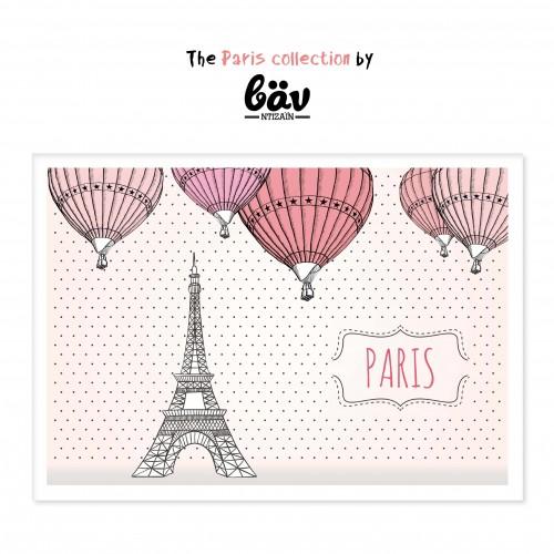 Χάρτινα Σουπλά-Βόλτα Στο Παρίσι-βαν ντιζάιν(12pcs)