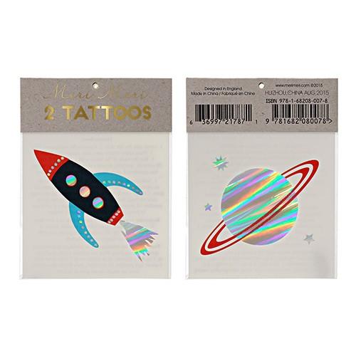 Τατουάζ Διάστημα - Space Tattoos Meri Meri