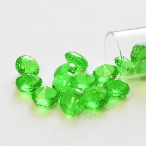 Βρώσιμα Διαμάντια 6mm-Πράσινο Σμαραγδιού