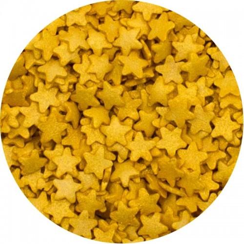 Sprinklicious Χρυσά Αστέρια Για Τούρτες Και Cupcakes 140gr
