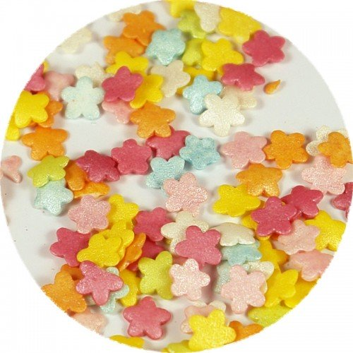 Sprinklicious Πολύχρωμα Λουλουδάκια Rainbow Mix 140g