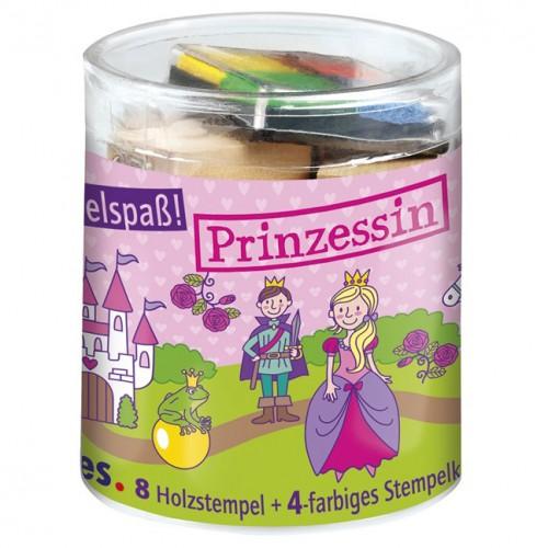 Παιδικό Σετ Σφραγίδες Με Μελάνια - Πριγκίπισσα
