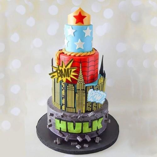 Cake Stencil Buildings-Στένσιλ Κτίρια Για Πλαϊνά Τούρτας