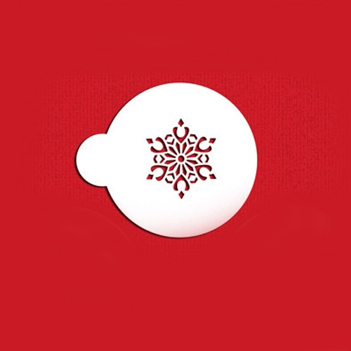 Snowflake Cookie Stencils Set - Στένσιλ Για Μπισκότα Χιονονιφάδα Designer Stencils