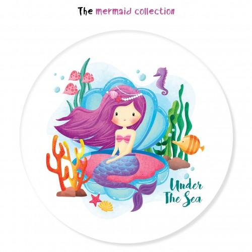 Γοργόνα Under The Sea Αυτοκόλλητα Για Παιδικά Πάρτυ-The Mermaid Collection
